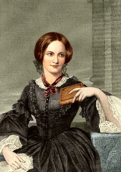 English novelist Charlotte Brontë was born today in 1816 (d.1855).