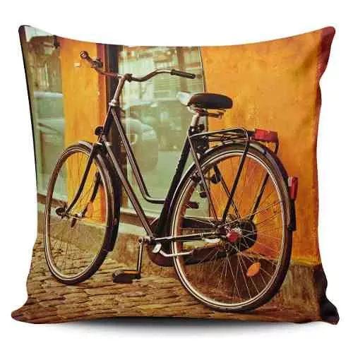 Cojin Decorativo Tayrona Store Bicicleta Vintage 02 - $ 43.900