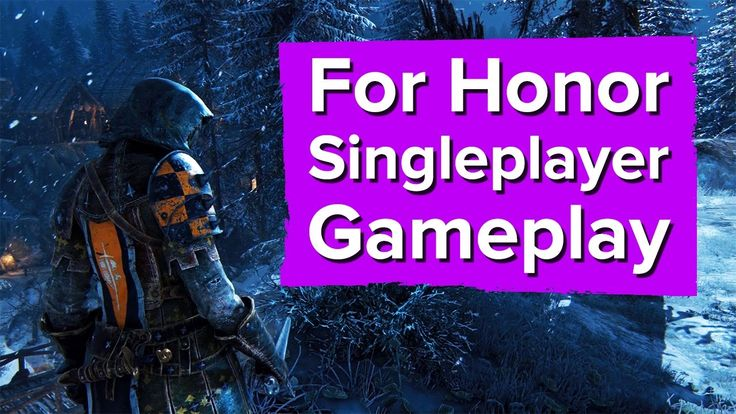 24 minutes of For Honor Single Player Gameplay (Knights/Vikings)