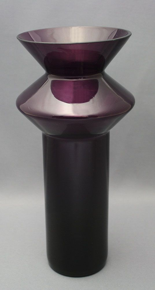 Helena Tynell; Glass 'Spinning Top' Vase, c1959.