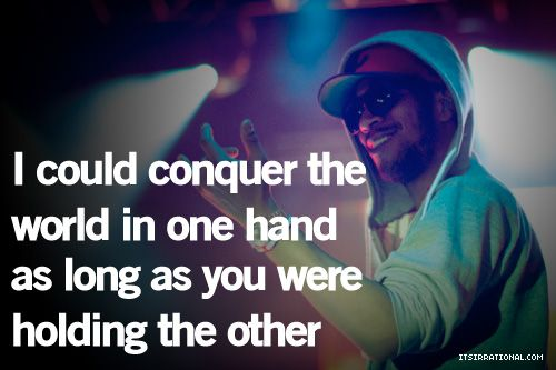 holding your hand...