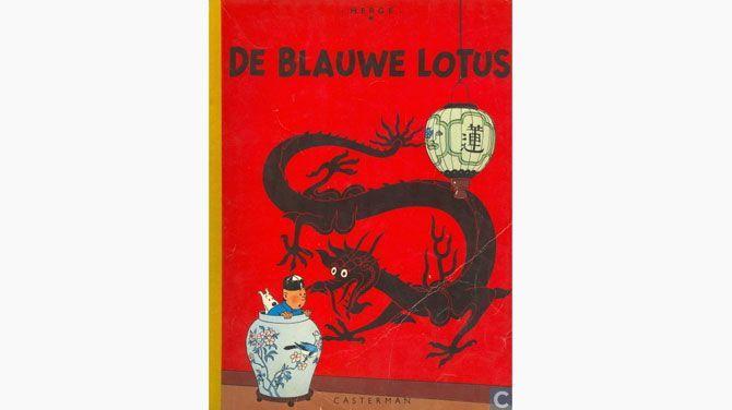 """Tekening uit """"De blauwe lotus"""" brengt 1 miljoen euro op"""