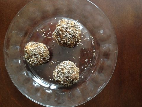 Almond Butter Chia Bites - Image by Natalie Barbarese