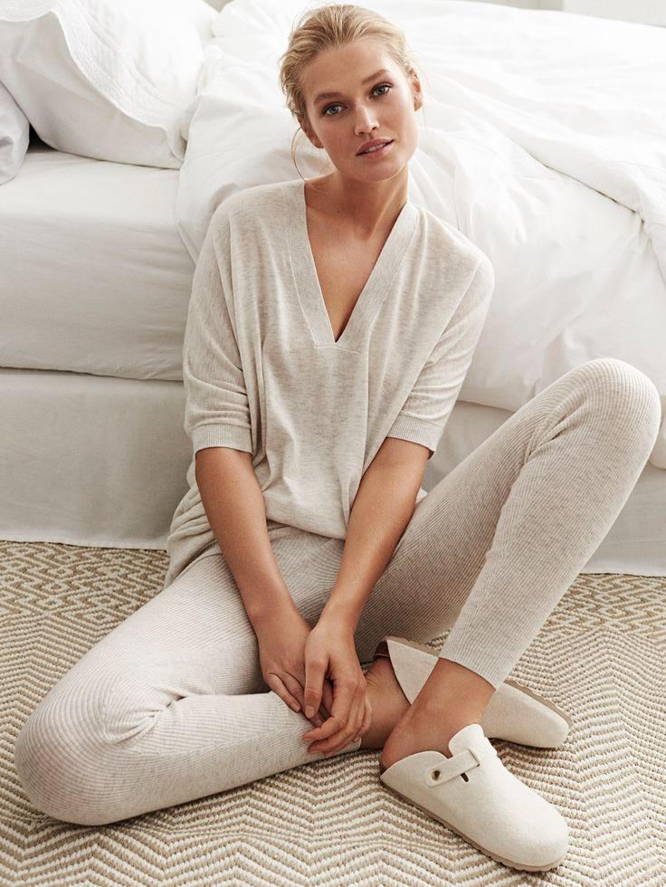 Toni Garrn stars in Zara Home's fall 2016 loungewear campaign