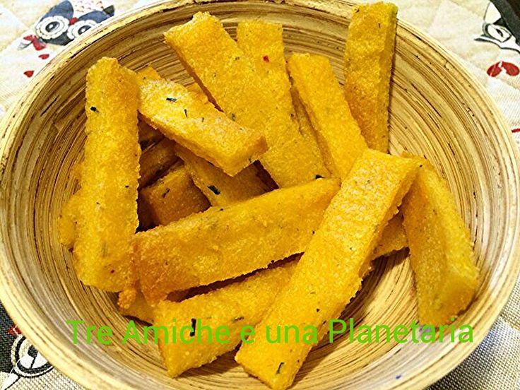 Patatine di polenta