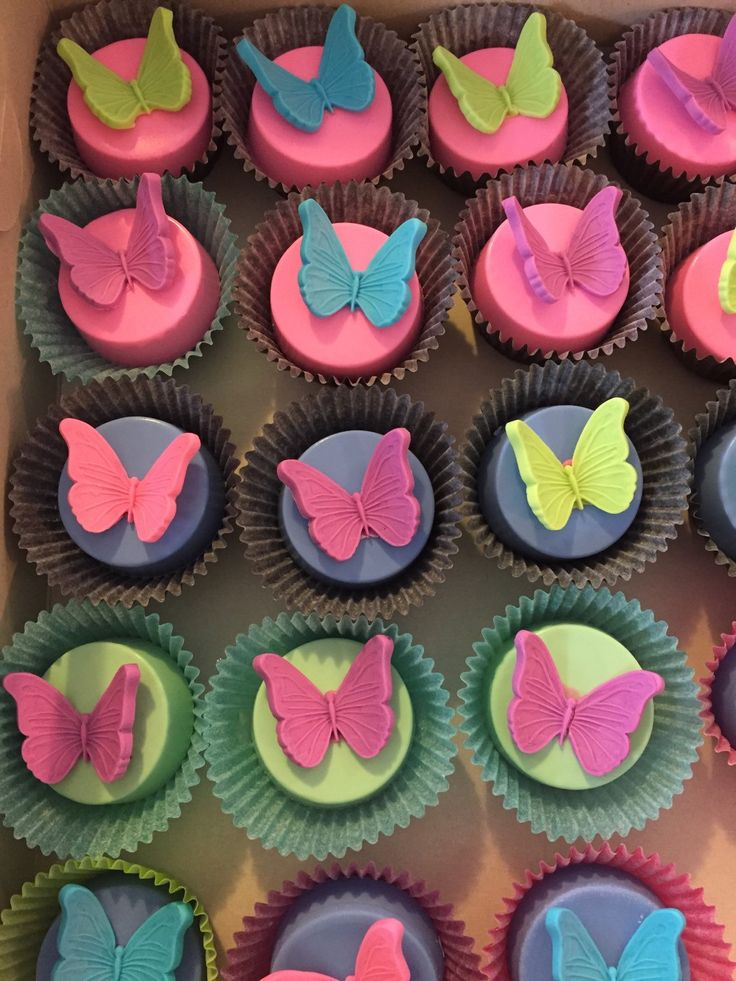 12 Butterfly Chocolate Covered Oreos by MizzDesserts on Etsy