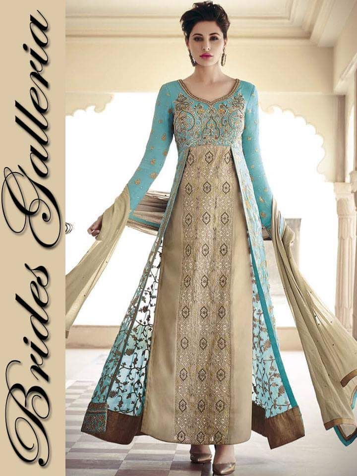 5. outstanding Embroidered Anarkali outfits 2016 collection