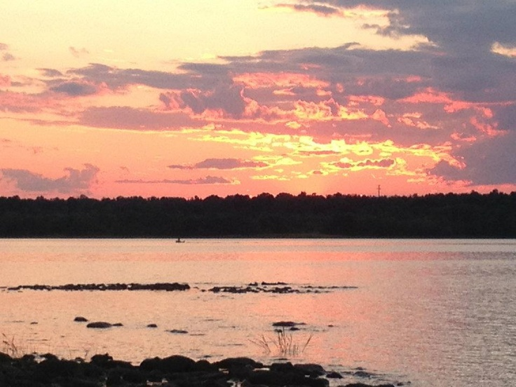 Ottawa River at twilight, near Westboro