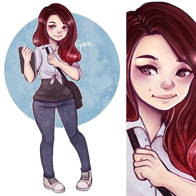 Laura Brouwers @cyarine Commission for a ...Instagram photo | Websta (Webstagram)