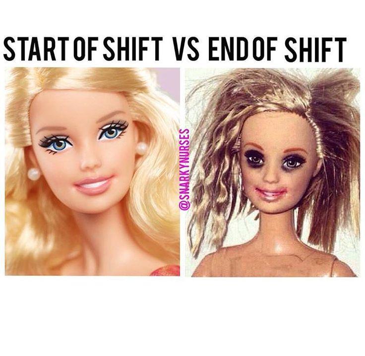 long long days for nurses. #makeup