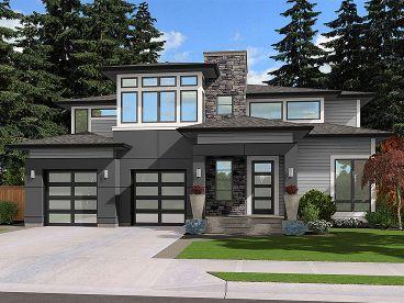2-Story Modern Home, 035H-0130