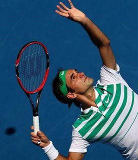 Blog Esportivo do Suíço:  Em recuperação após artroscopia, Federer diz que só volta a jogar em abril