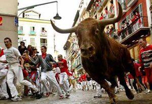 Running with the bulls in Pamplona !!!!! Spain !!! Adventure vacation #JetsetterCurator