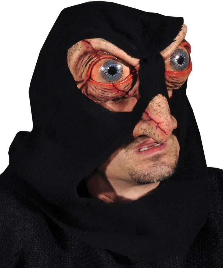 costume mask: hacker mask