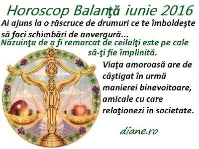 diane.ro: Horoscop Balanţă iunie 2016