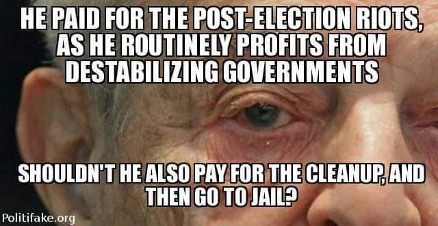 George Soros, whose nephew is married to Chelsea clinton