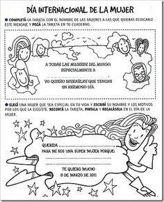 Fichas: Día internacional de la mujer