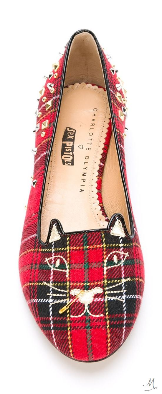 CHARLOTTE OLYMPIA  'Punk Kitty' slippers and like OMG! get some yourself some pawtastic adorable cat apparel!