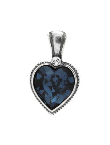 EN1125 - Petite blue heart pendant