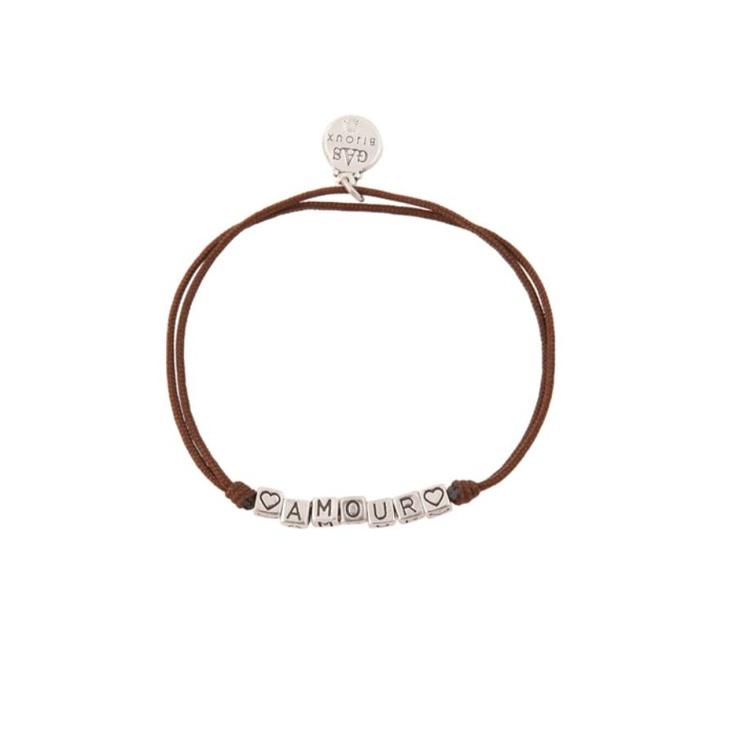 Bracelet Amour Marron