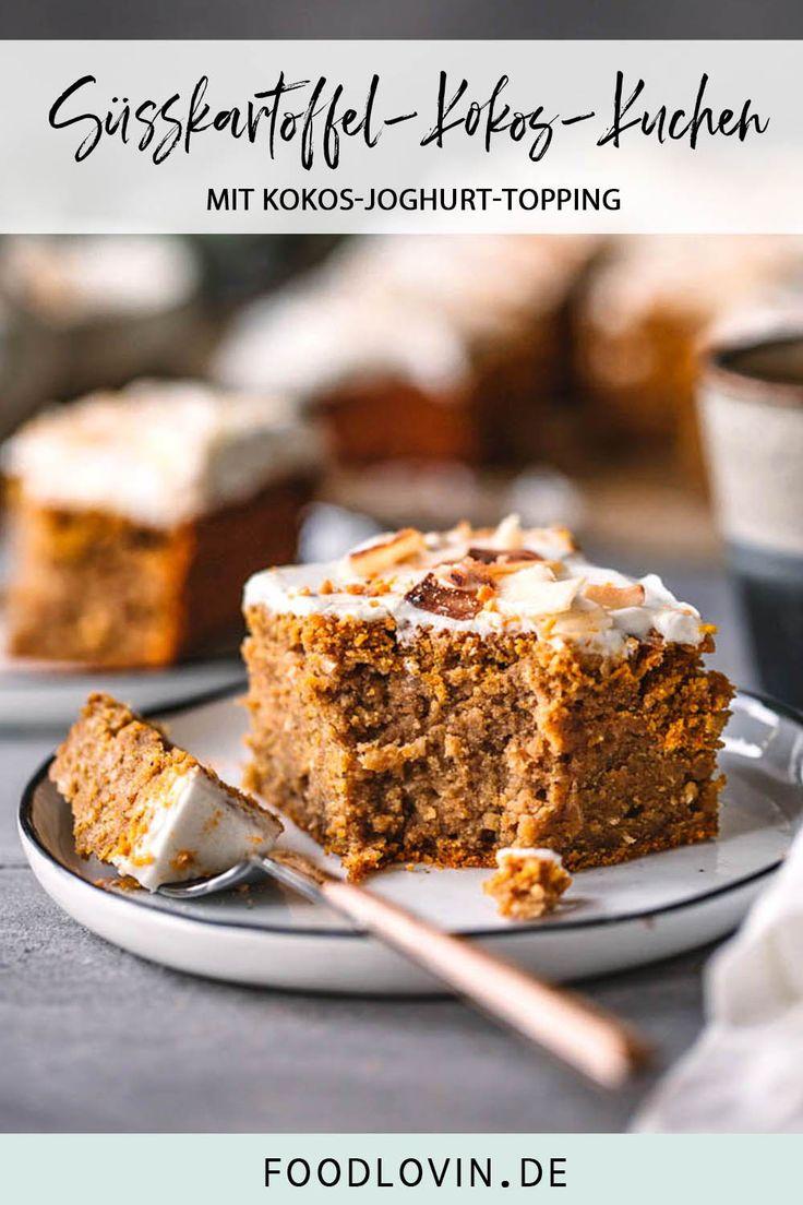 Süßkartoffel-Kokos-Kuchen – Rezepte – Herbstküche