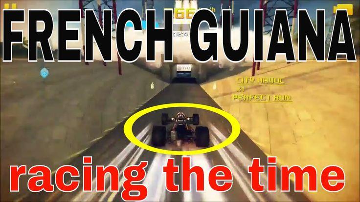 ASPHALT 8 AIRBORNE FRENCH GUINIA I BEAT MY GHOST walkthrough  gameplay  ...