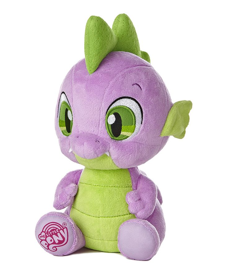 Another great find on #zulily! My Little Pony 10'' Spike Plush Toy by My Little Pony #zulilyfinds