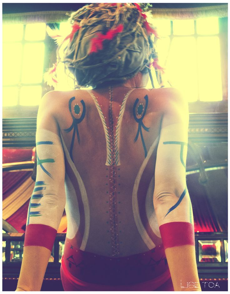 -°- My work -°- Bodypaint by Lise Toa