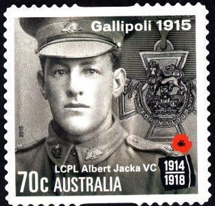 Australia Postage Stamp - Centenary of World War I (2nd issue). Gallipoli Campaign