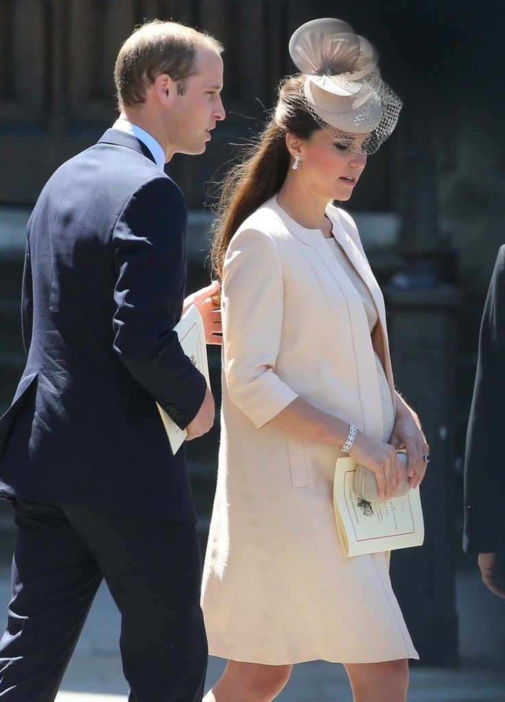 Kate Middleton - British Royals Leave Westminster Abbey