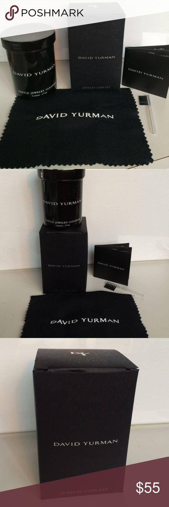 David Yurman Cleaning Solution
