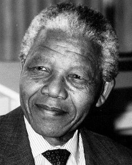 Nelson Mandela is hands down one of the best human beings ever to walk the face of this planet. His smile could make the gloomiest day seem happy. I love him.