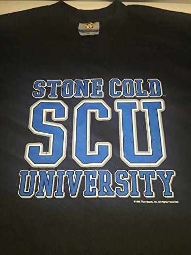Original Stone Cold Steve Austin SCU 3:16 T Shirt 1998 WWF WWE  Wrestling  Stone cold steve Austin  Wwe