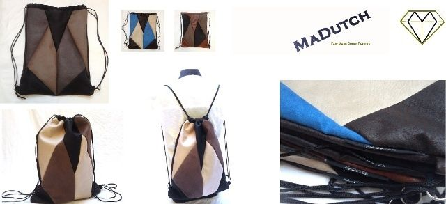Backpack Mozaiek collectie madutch.nl For him & Her!