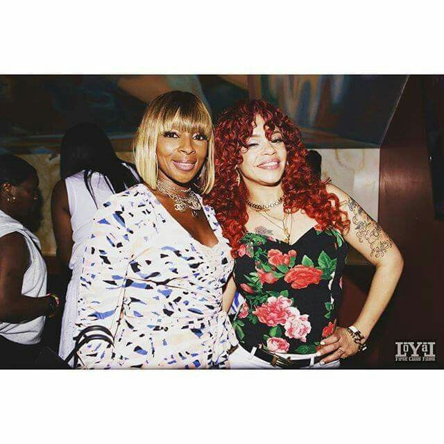 Mary J. Blige and Faith Evans