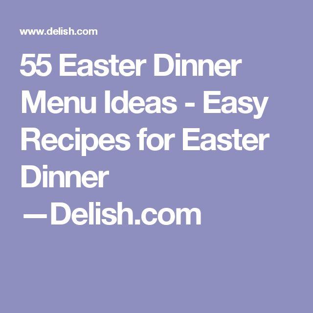 Best 25+ Easter dinner menu ideas ideas on Pinterest Easter - dinner menu