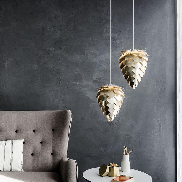 Conia Mini pendel från Vita, formgiven av Ravn Christensen. En tuff och annorlunda lampa som garante...