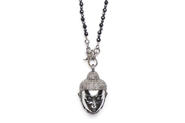 Buddha Diamond Pendant & Chain