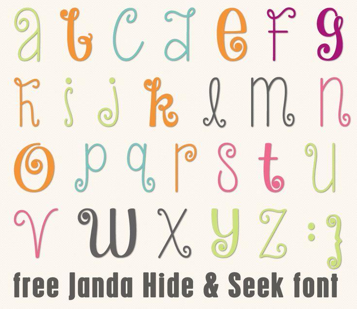 Best 25 Curly Font Ideas On Pinterest Letter Fonts