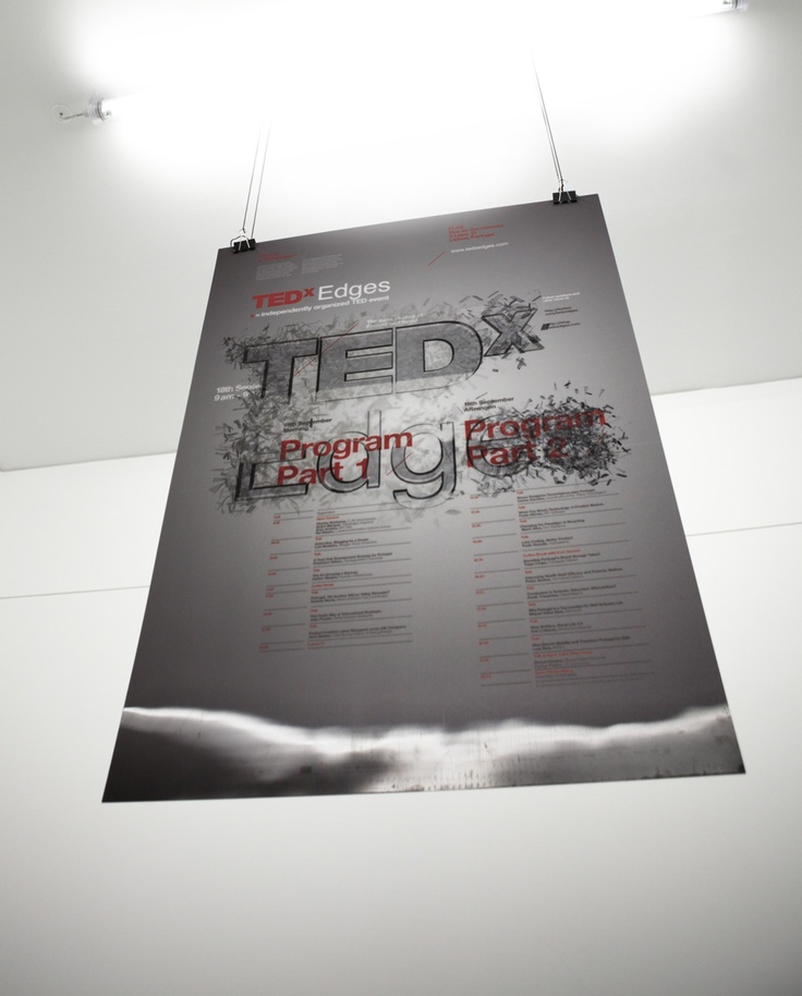 TEDxEdges Event by This is Pacifica , via Behance