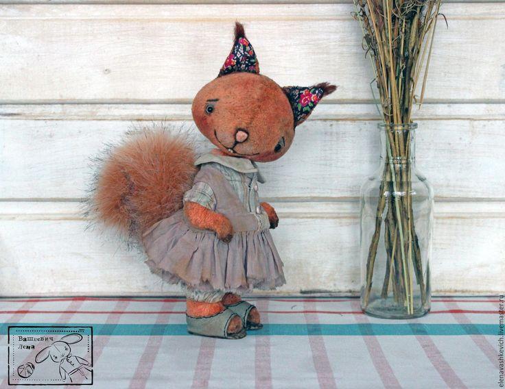 Купить Лида ХТ2016 БРОНЬ - рыжий, мишки тедди, друзья тедди, белка, белочка, лес