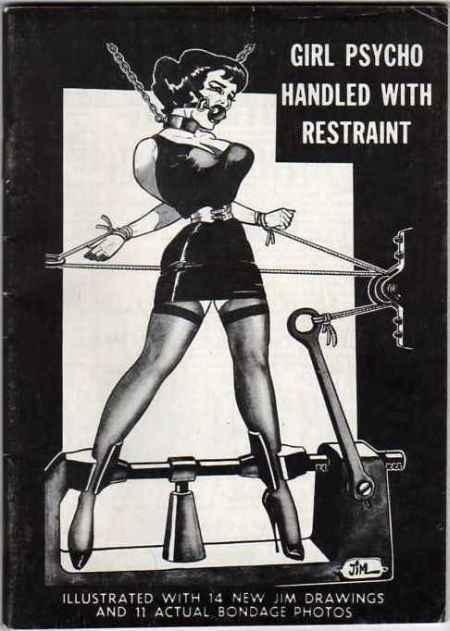 Girl Psycho Handled With Retraints Nutrix 1960