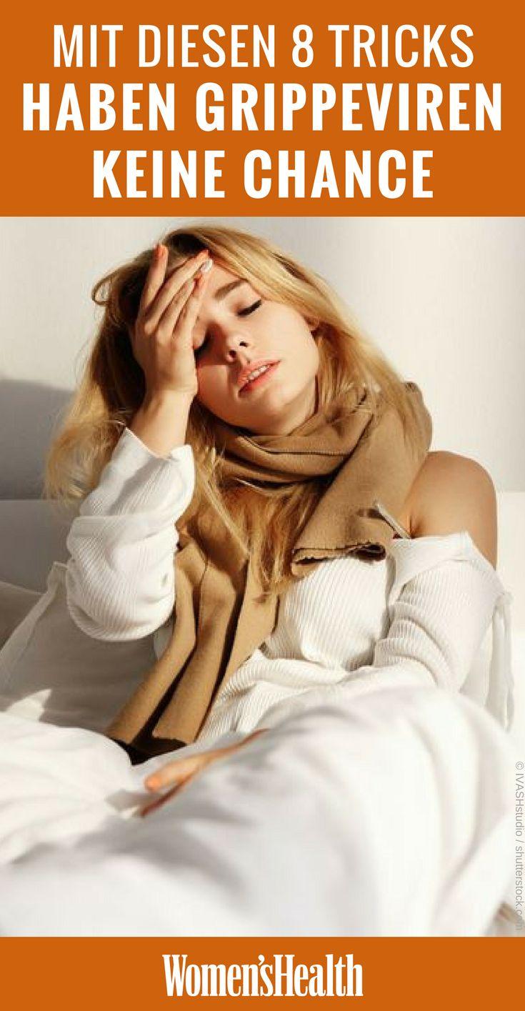 Husten, Kopfweh, Fieber - jetzt startet wieder die Hochsaison der Grippeviren. Mit diesen 8 Tipps schützen Sie sich vor einer Ansteckung