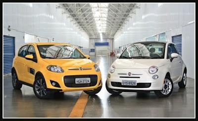 Fiat 500 Cult 1.4 vs Fiat Palio Sporting 1.6