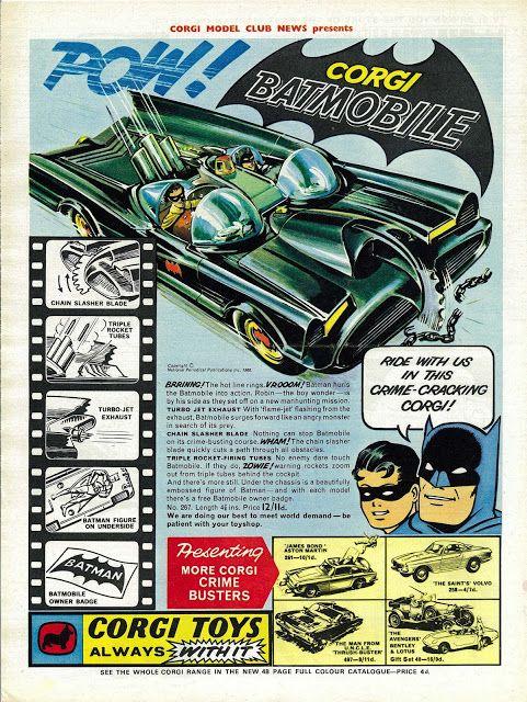 Corgi Batmobile ad (1966)