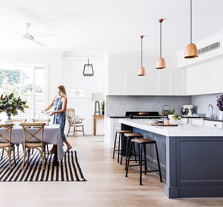 Serial renovators Anna and Matt have triumphed with this New England-inspired home.  Take the tour on www.homestolove.com.au.  Photo: @mareehomer. Styling: @ashleypratt. Story: @houseandgarden