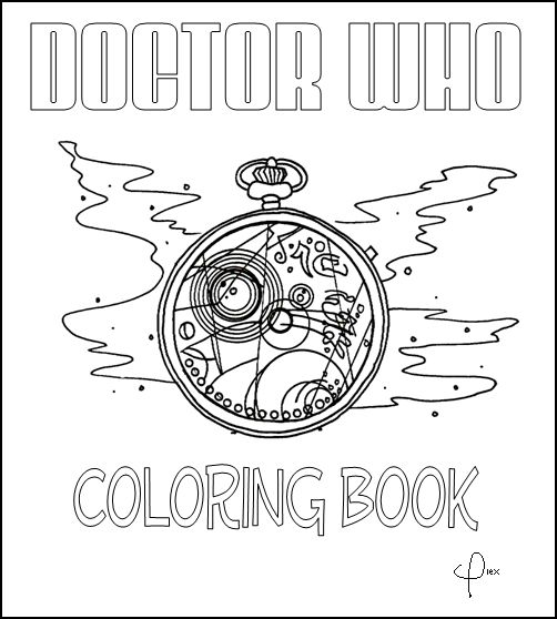 doctor who coloring book by wolf of malkuth on deviantart