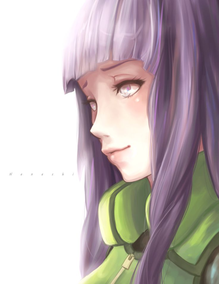 Hinata Hyuga- this illustration is lovely.