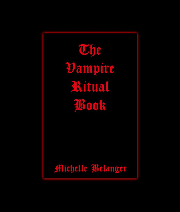 18 best michelle belanger my new found hero images on pinterest the vampire ritual book by michelle belanger 2007 paperback fandeluxe Image collections