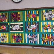 파나마 원주민 전통 미술-MOLA
